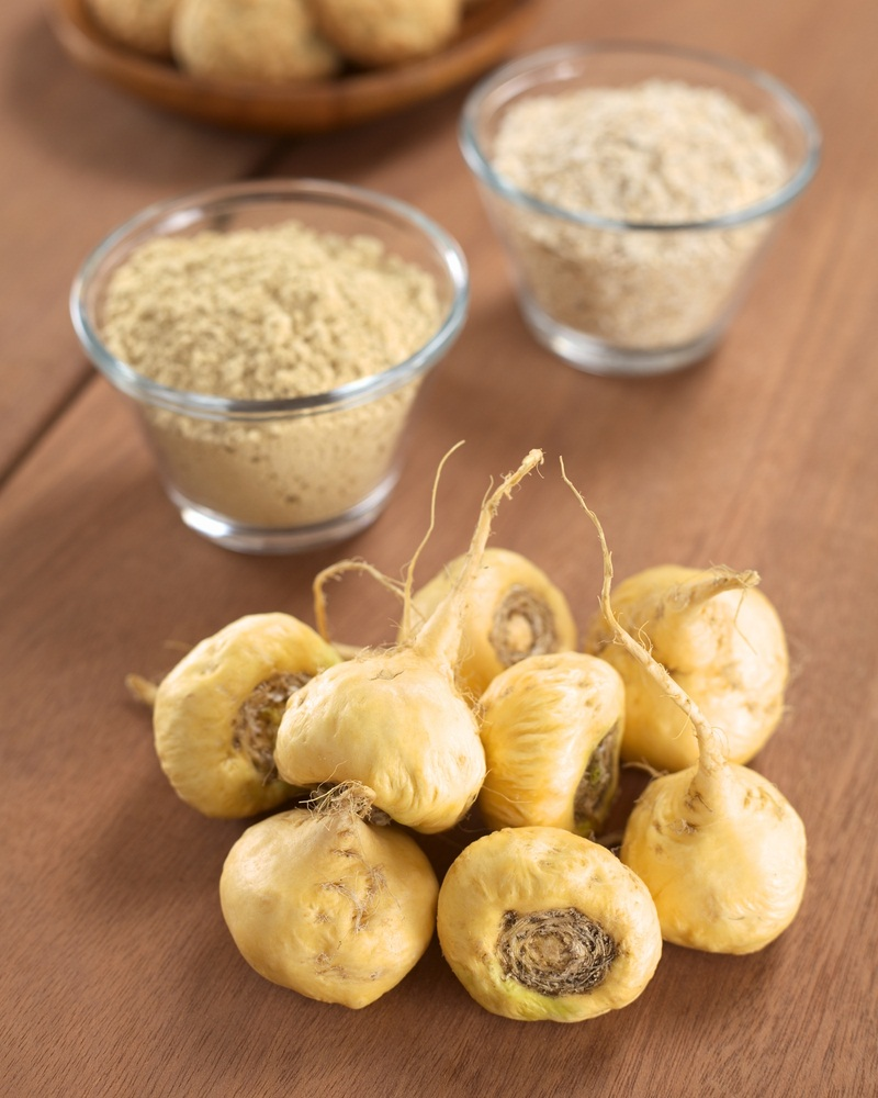 Maca root contains many chemicals, including fatty acids and amino acids. However, there isn't enough information to know how maca might work. Uses. Uses & Effectiveness?
