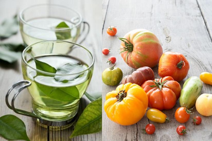 Green Tea And Papaya