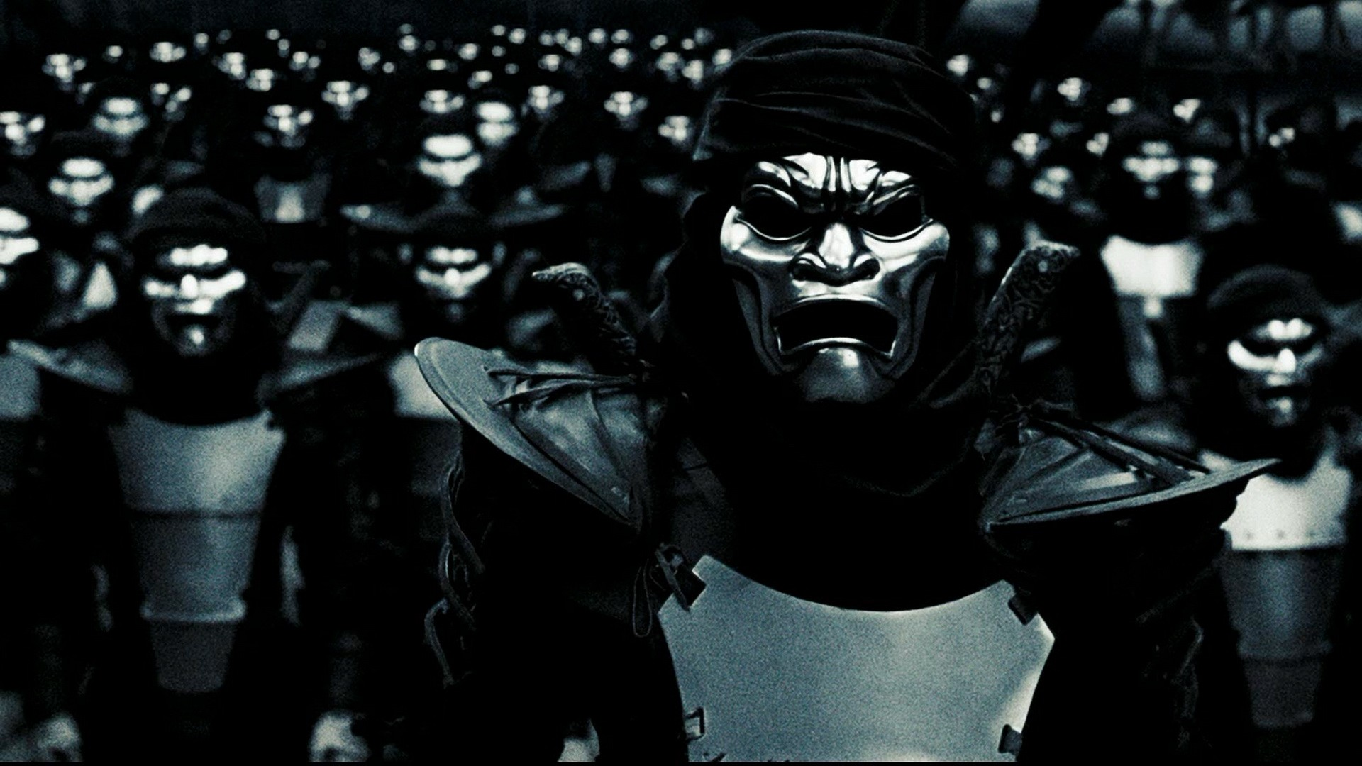Dinner and a Movie: The 300- The GAIA Health Blog Persian Immortals Mask
