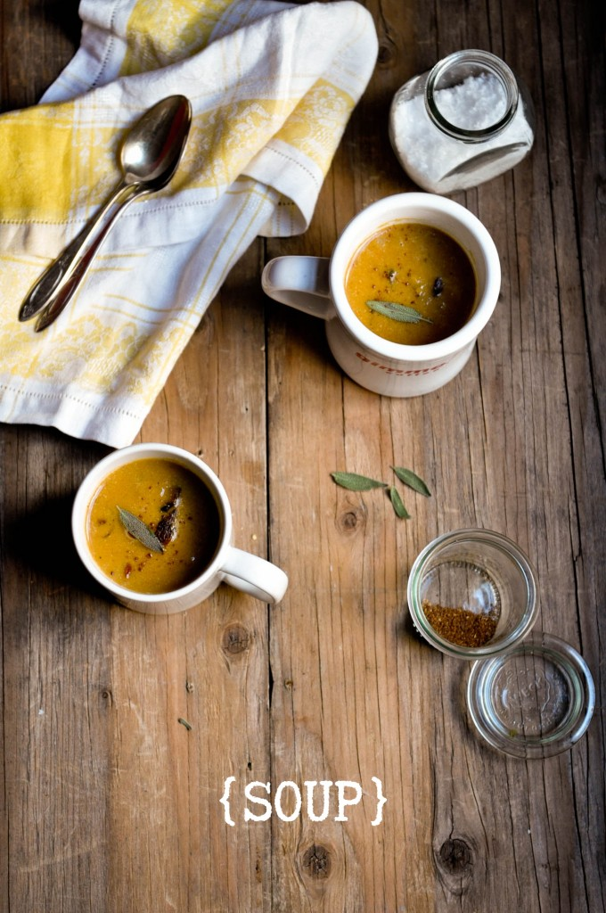 Roasted Butternut Squash and Pear Soup2
