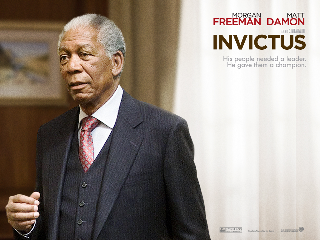 nelson mandela invictus Nelson mandela : [reciting] out of the night that covers me, black as the pit from pole to pole / i thanks whatever gods may be, for my unconquerable soul.