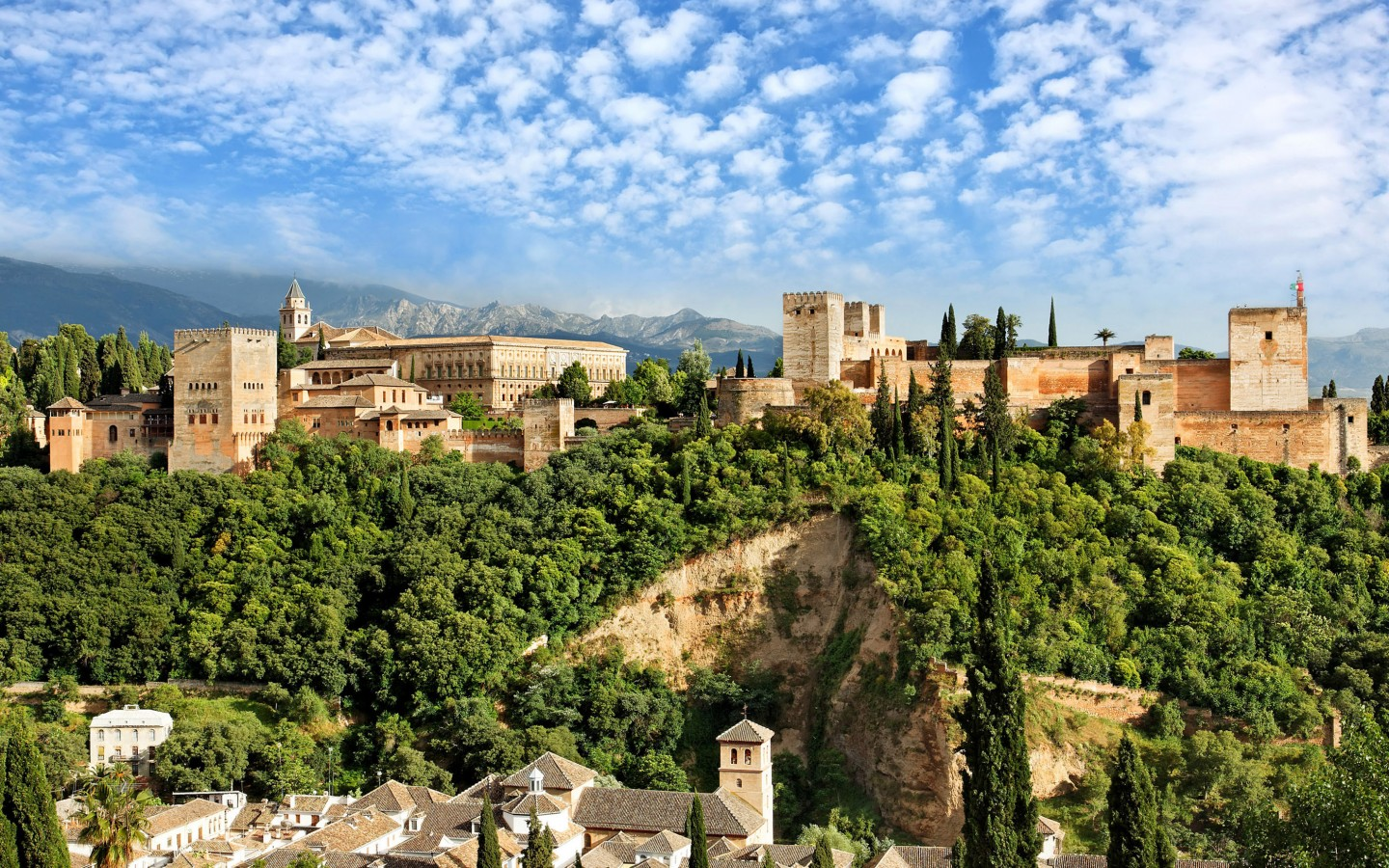 Granada Spain  city pictures gallery : Granada Spain's dominant sight is the Alhambra, the last and greatest ...
