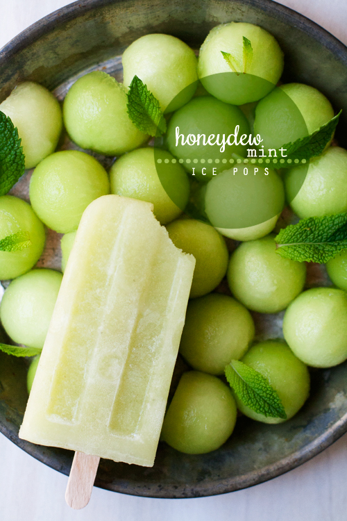 Mint Caipirinha Ice Pops Recipe — Dishmaps
