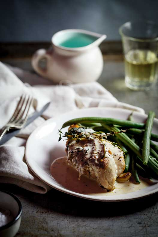 Roasted Chicken Breasts With Mustard Cream Sauce- Use Grass Fed Cream ...
