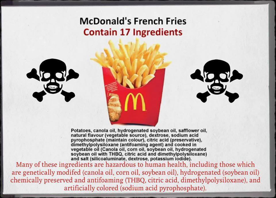 health risks of eating mcdonald s During which spurlock subsists exclusively on mcdonald's fast food and stops  the supermarket that's eating britain  what health risks do we.