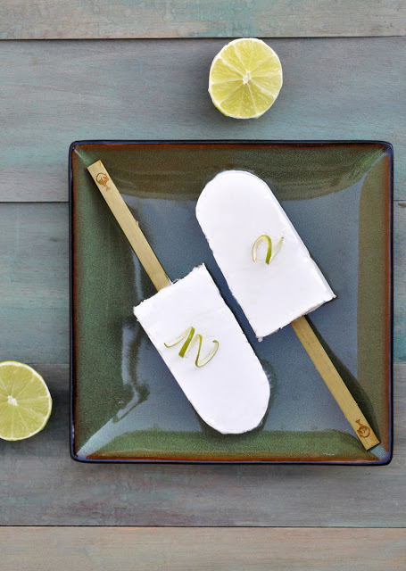 Coconut Lime Pops For Grown Ups Recipes — Dishmaps