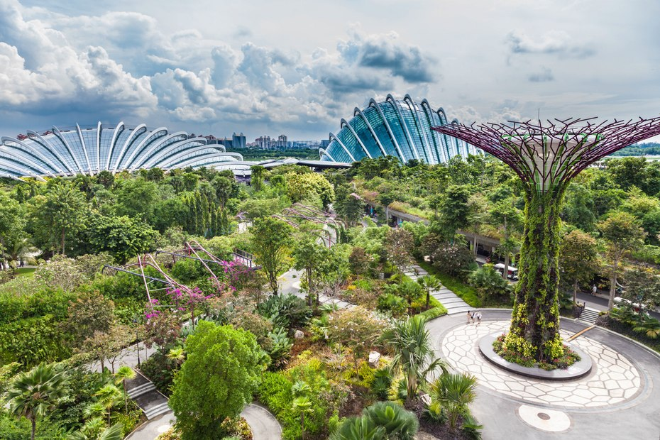 Garden By The Bay Food garden garffiti, (part 3): gardensthe bay, singapore- the gaia