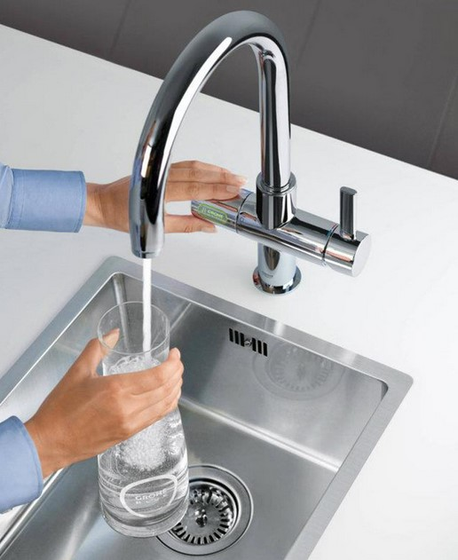 kitchen faucet with built in water filter kitchen faucet