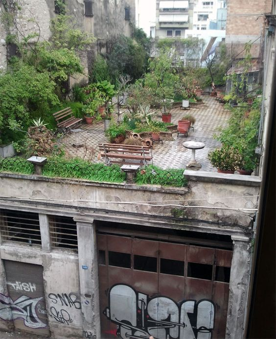 (below) Slick Penthouse rooftop ...