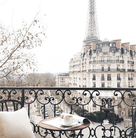 French Balcony Aesthetic
