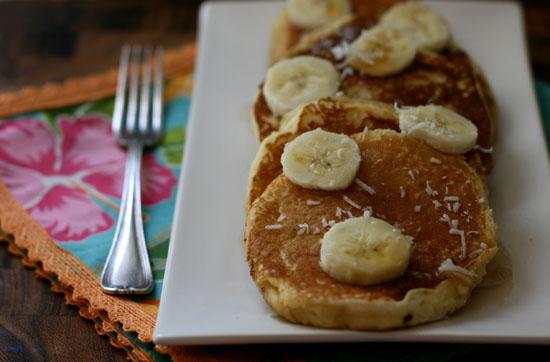 Coconut flour pancakes the gaia health blog coconut flour pancakes ccuart Gallery