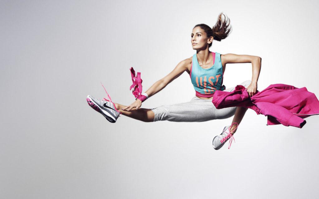 фитнес реклама в картинках удачно комбинируется