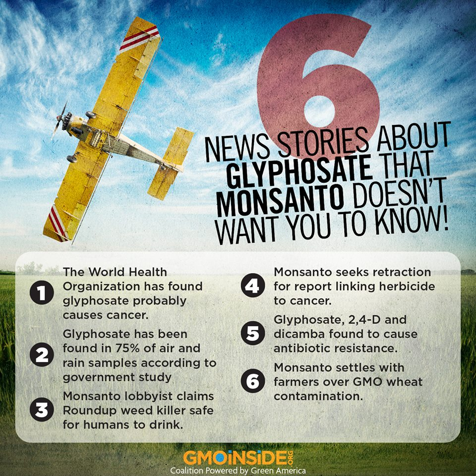 Cancer Causing Glyphosate Popping Up Everywhere In Our